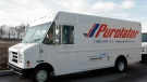Purolator hopes to avoid a strike after 56 per cent of members rejected the company's latest offer. (File image)