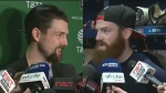Dallas Star captain Jamie Benn will play his brother Montreal Canadien Jordie Benn on Tuesday March 28, 2017
