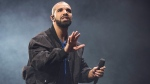 In this Oct. 8, 2016 file photo, Drake performs onstage in Toronto. (Arthur Mola/Invision/AP, File)
