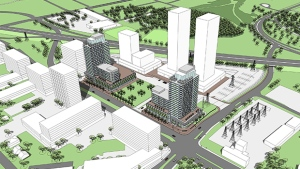 Westgate Shopping Centre to get massive facelift with five towers. (Riocan)
