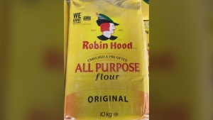 The Canadian Food Inspection Agency has recalled a batch of Robin Hood brand All Purpose Flour due to possible E. Coli contamination. (Handout)