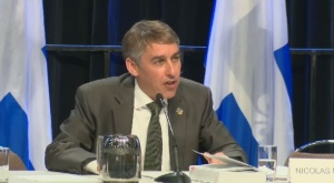 PQ finance critic Nicolas Marceau