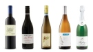 Seghesio Zinfandel 2015, Miss Harry Grenache Syrah Mourvèdre 2013, Pieropan Soave Classico 2015, Cave Spring Cellars Estate Bottled Chardonnay 2014, Loosen Bros. Dr. L. Sparkling Riesling