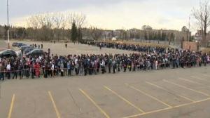 Help wanted - thousands attend job fair