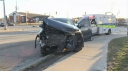 No injuries in t-bone crash involving cab