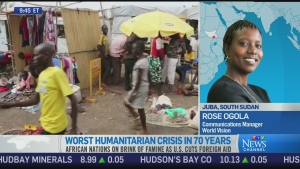 CTV News Channel: Humanitarian crisis