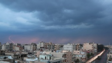 Raqqa, Syria, in March, 2017