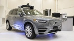 A pilot model of the Uber self-driving car. (Angelo Merendino / AFP)