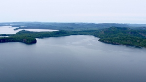Big Trout Bay on Lake Superior is shown in a handout photo.  (The Nature Conservancy of Canada)