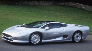 The Jaguar XJ220. (Jaguar)