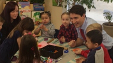 Trudeau in Winnipeg
