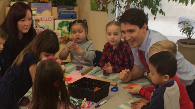 The Trudeau Liberals say they plan to spend $195 million in the coming years on research to close data gaps on child care in Canada. (Josh Crabb/CTV Winnipeg)