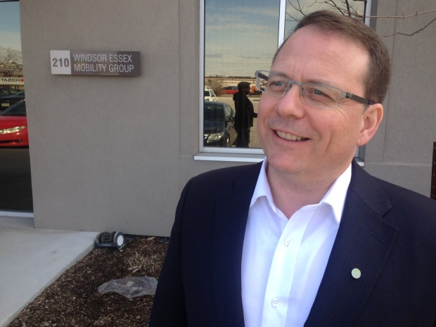 Green Party of Ontario leader Mike Schreiner