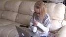 Teen suffering genetic disorder