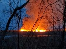 Pelee Fire