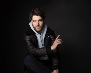 FILE - In this Jan. 22, 2017, file photo, actor Adam Pally poses for a portrait to promote the film, 'Band Aid,' at the Music Lodge during the Sundance Film Festival in Park City, Utah.(Photo by Taylor Jewell/Invision/AP, File)