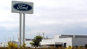 Ford's Essex Engine Plant in Windsor, Ontario on Sept. 15, 2006. (Craig Glover / THE CANADIAN PRESS)