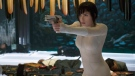 "In this image released by Paramount Pictures, Scarlett Johansson appears in a scene from, ""Ghost in the Shell."" (Jasin Boland/Paramount Pictures and DreamWorks Pictures via AP)"