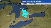 Risk of freezing rain as temperatures fall