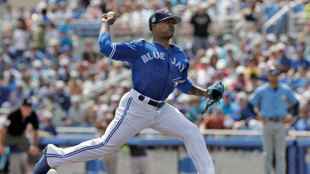 Blue Jays place Osuna on 10-day DL, cut Upton