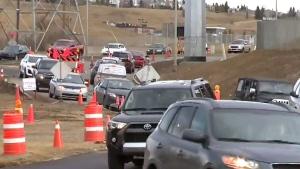 CTV Calgary: Crews repairing water main