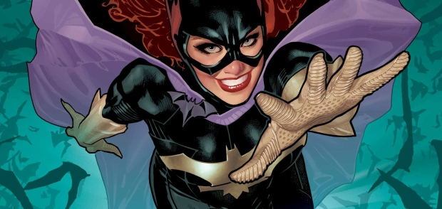 Batgirl is shown in this art from the DC Comics website.