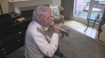 Londoner David Cunningham's bugle is heading back to Vimy for the 100th anniversary of the Battle of Vimy Ridge.