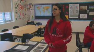 A group of high school students are heading to the 100th anniversary of the battle of Vimy Ridge.