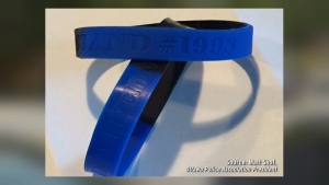 Backlash over Police wristband