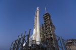 This photo made available by SpaceX on Thursday, March 30, 2017 shows the company's Falcon 9 rocket on Kennedy Space Center's historic Pad 39A in Cape Canaveral, Fla. (SpaceX via AP)