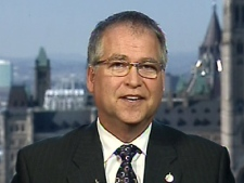 Minister of State Gary Goodyear appears on 'Power Play' on Tuesday, March 17, 2009.