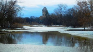 Assiniboine Park getting ready for spring. Photo by Peter Carlyle-Gordge.
