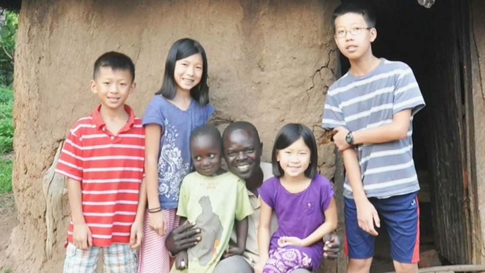 The Soh family wrote about their six week missionary trip to Uganda to help them clinch a house. (CTV Toronto)