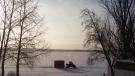 The beginning of spring at Sandy Lake