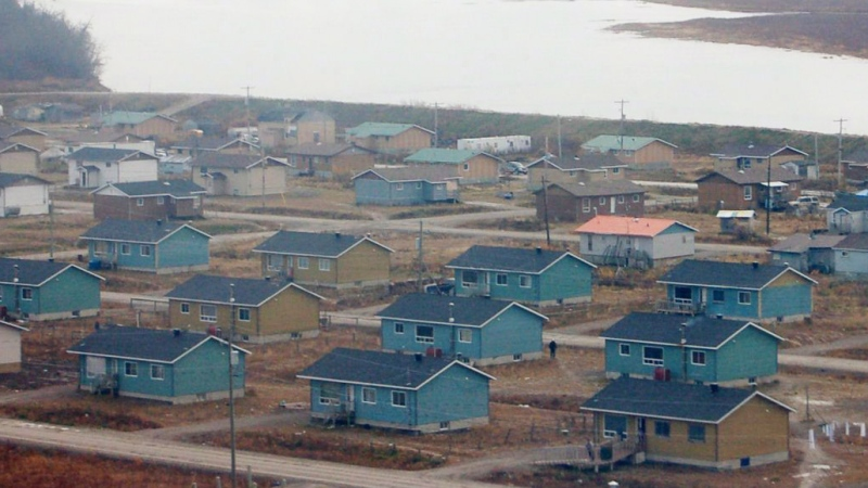 Kashechewan, a First Nation community of 1,800 people in Ontario's far north, is getting hit hard by the COVID-19 pandemic. (File)