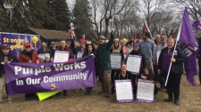 Rally against Sask. government cuts