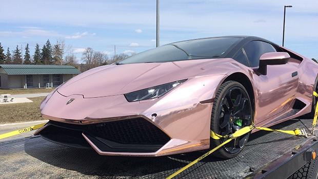 rose gold lamborghini huracan. lamborghini among 12 vehicles impounded for stunt driving on hwy. 400 | ctv barrie news rose gold huracan n