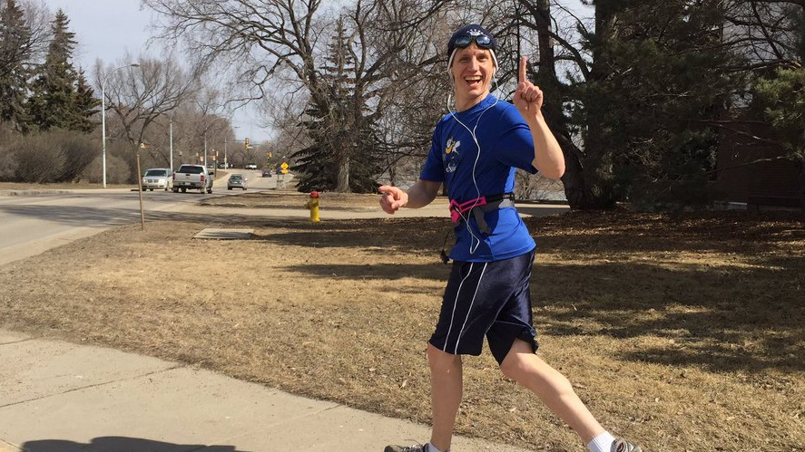 Saskatoon Man Forgoes Training Runs Marathon For Charity Ctv News Saskatoon