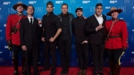 Billy Talent pose on the red carpet as they arrive at the Juno awards show, Sunday, April 2, 2017 in Ottawa. (Sean Kilpatrick / THE CANADIAN PRESS)