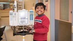 Daniel Nevins-Selvadurai, 10, is seen in this undated handout photo. (THE CANADIAN PRESS/HO, Hospital for Sick Children)