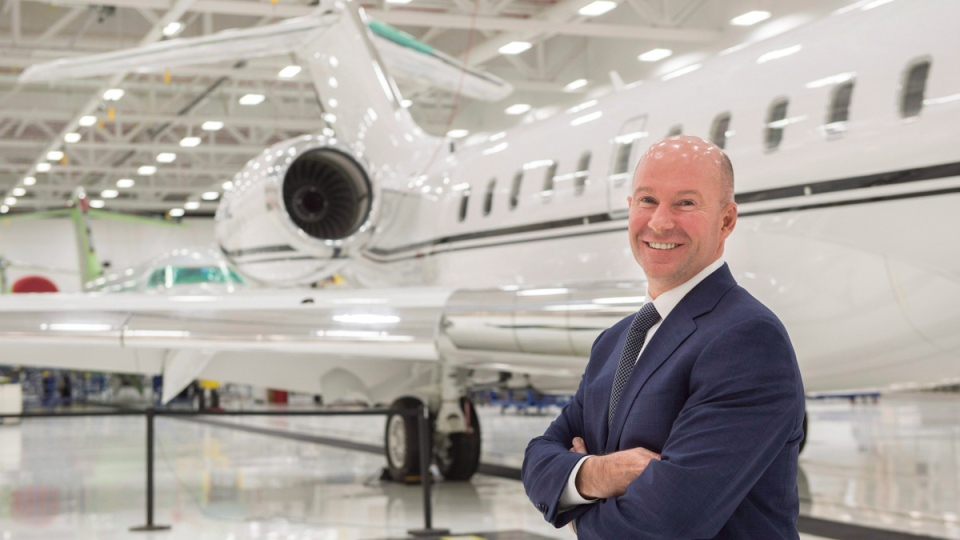 Bombardier President and CEO Alain Bellemare in Montreal on February 7, 2017. (Paul Chiasson / THE CANADIAN PRESS)