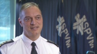 SPVM Chief Philippe Pichet said citizens will not have to wait 10 years for reforms to take hold in the SPVM.