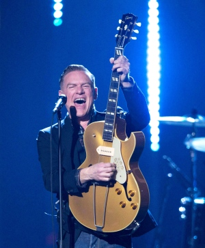 Bryan Adams performs at the Juno awards show Sunday April 2, 2017 in Ottawa. THE CANADIAN PRESS/Sean Kilpatrick