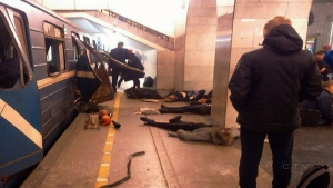 CTV National News: Deadly attack on Russian subway