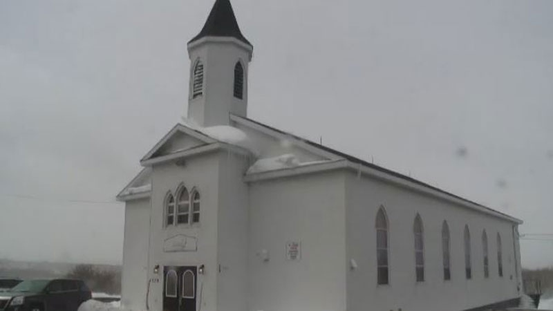 Glace Bay's former Holy Family Church has been saved from the wrecking ball and transformed from a place of worship into a place to say goodbye to loved ones.
