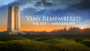 Vimy 100 promo image