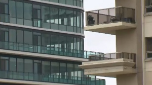 Vancouver condo buildings are shown in an undated image. (CTV)