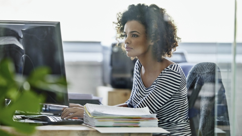 Canadians could be spending less time in the office by 2030 if productivity increases, according to a Fraser Institute study.