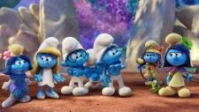 Smurfs movie 2017
