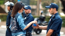 Kendall Jenner is seen in a Pepsi ad